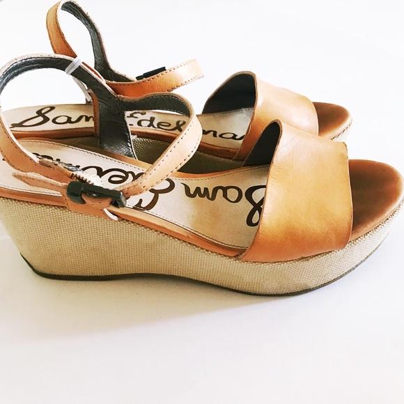 e38837549f4504 Sam Edelman Shoes - Sam Edelman platform ankle strap wedge sandal